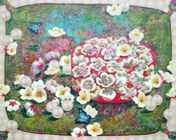 그녀의 정원 91x72.7cm Acrylic on canvas 2017