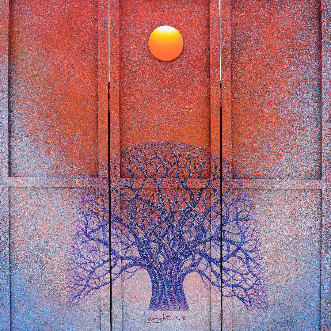 021, Sunrise - Faith,  Hope  and  Love,