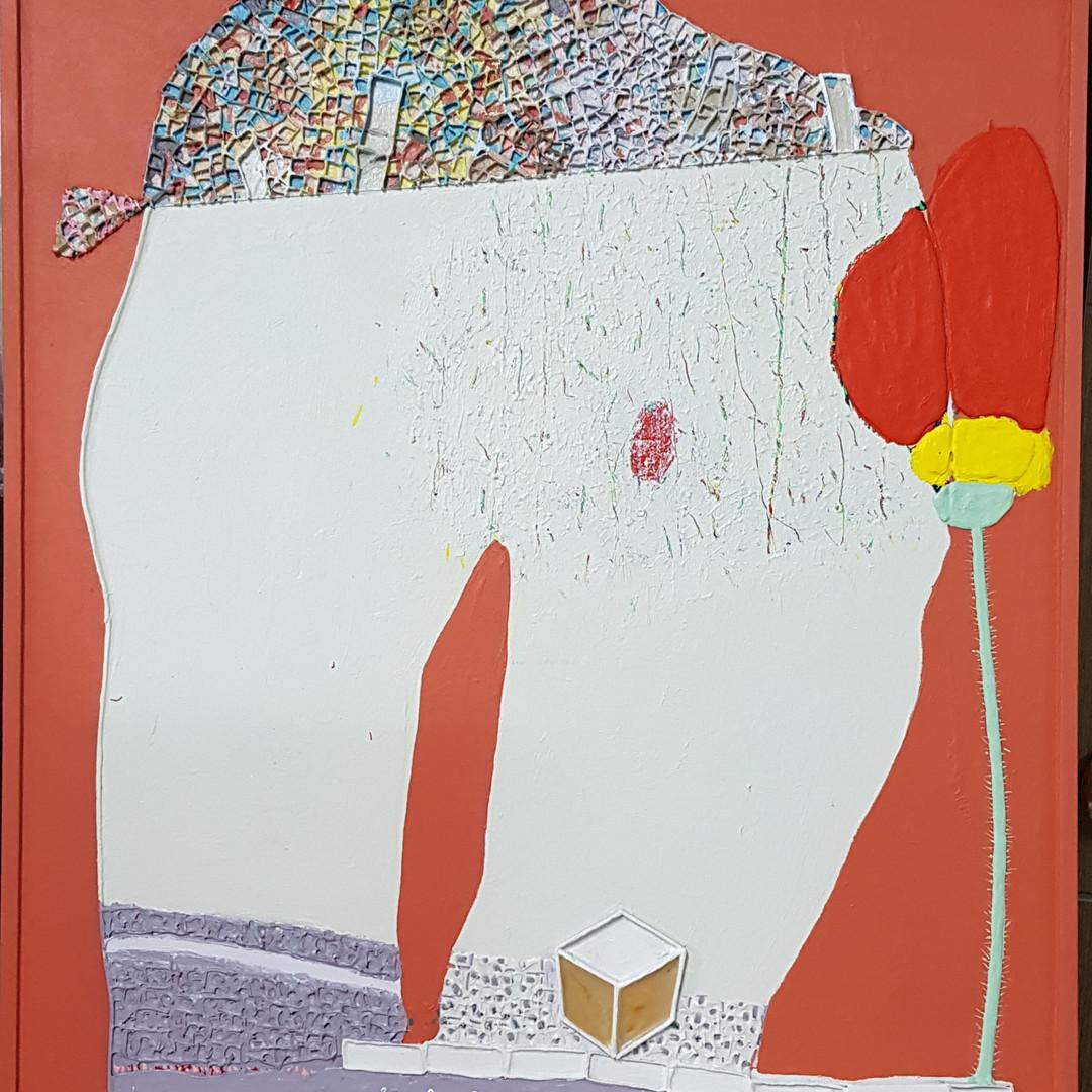 004, 김형길, 제일이라20, 72 .7 x 60.6 cm, 캔버스 위