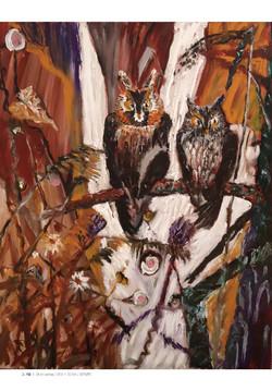 민해정수(18-1)_그겨울,oil on canvas,90.9cmx72