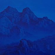 010, 북한산, 45 x 27 cm, acrylic on canvas,