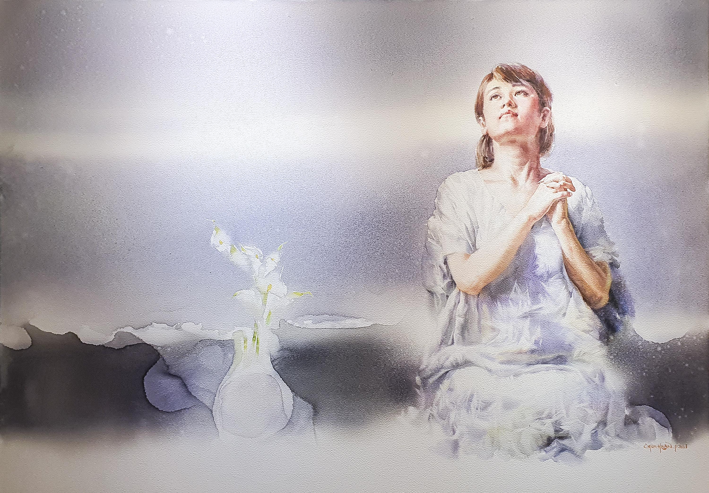 001, 박철환, Prayer, 112.1 x 162