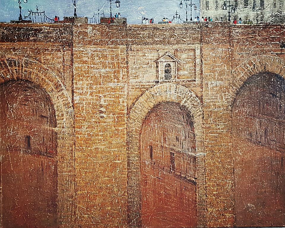 최수란, 스페인 론다, 91 x 73 cm, oil on canvas,