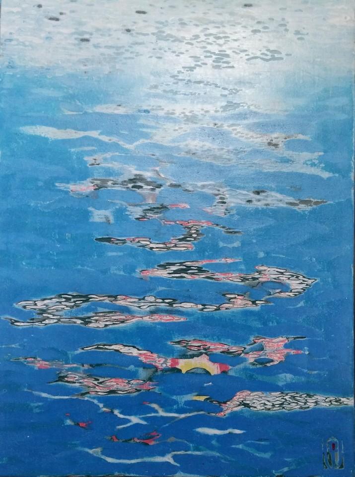 김재신5, 바다,  24.2 x 33