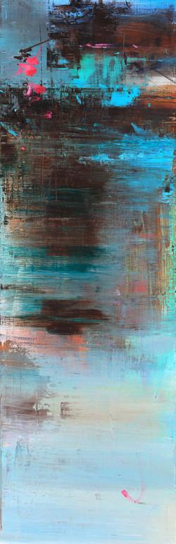 019, 연상록, 기억의 소환 중에서 (가을서정) Ⅰ, 34 x106 c