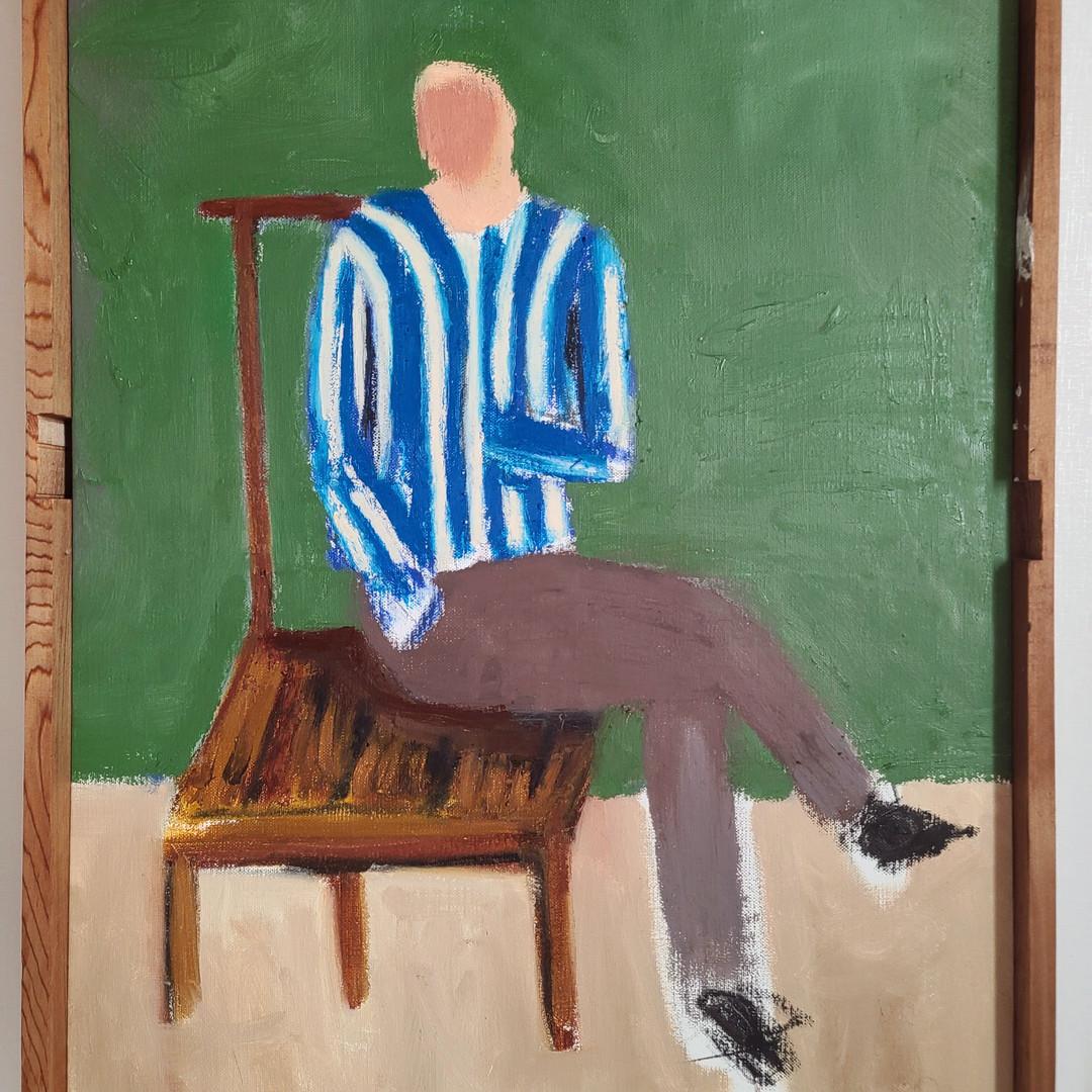 015, 최우, untitled, 60.6 x 45.5 cm, oil &