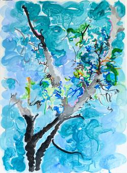 014, 박계숙, 나르시스의 정원-여름1, 45.3 x 33