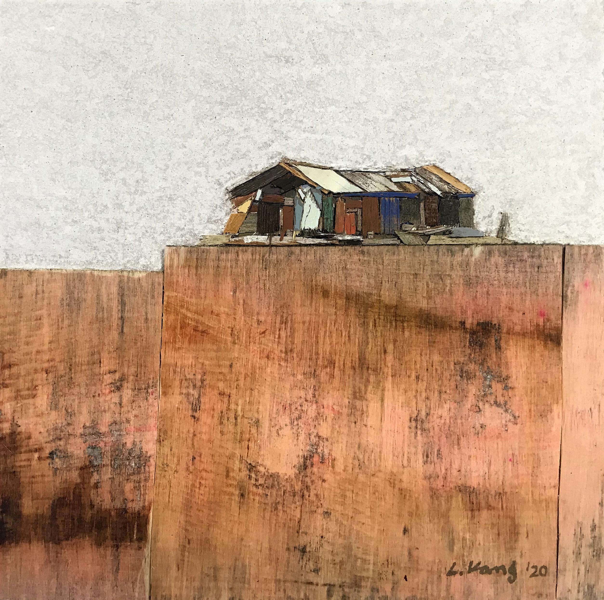 이부강3-1, trace skyline 24, 20 x 20 cm, mi