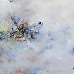 권영범4, 어떤여행 (un Voyage), 29 x 29 cm, oil