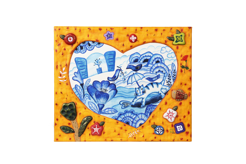 구채연2, 사랑가, 45.5 x 37