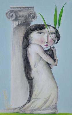 문선미3, 그녀의 정원-립스틱, 32.0 x 50