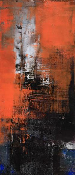 013, 기억의 소환-秋, 60 x 25 cm, 캔버스에 유화물감, 20