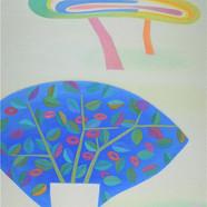 015, 창밖의 가지를 꺾어와.90.9×72.7.oil on canvas