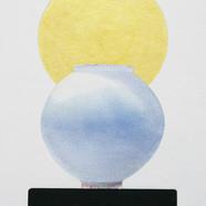 024, 오관진, 비움과 채움(복을담다), 45.5 x 33.5 cm,