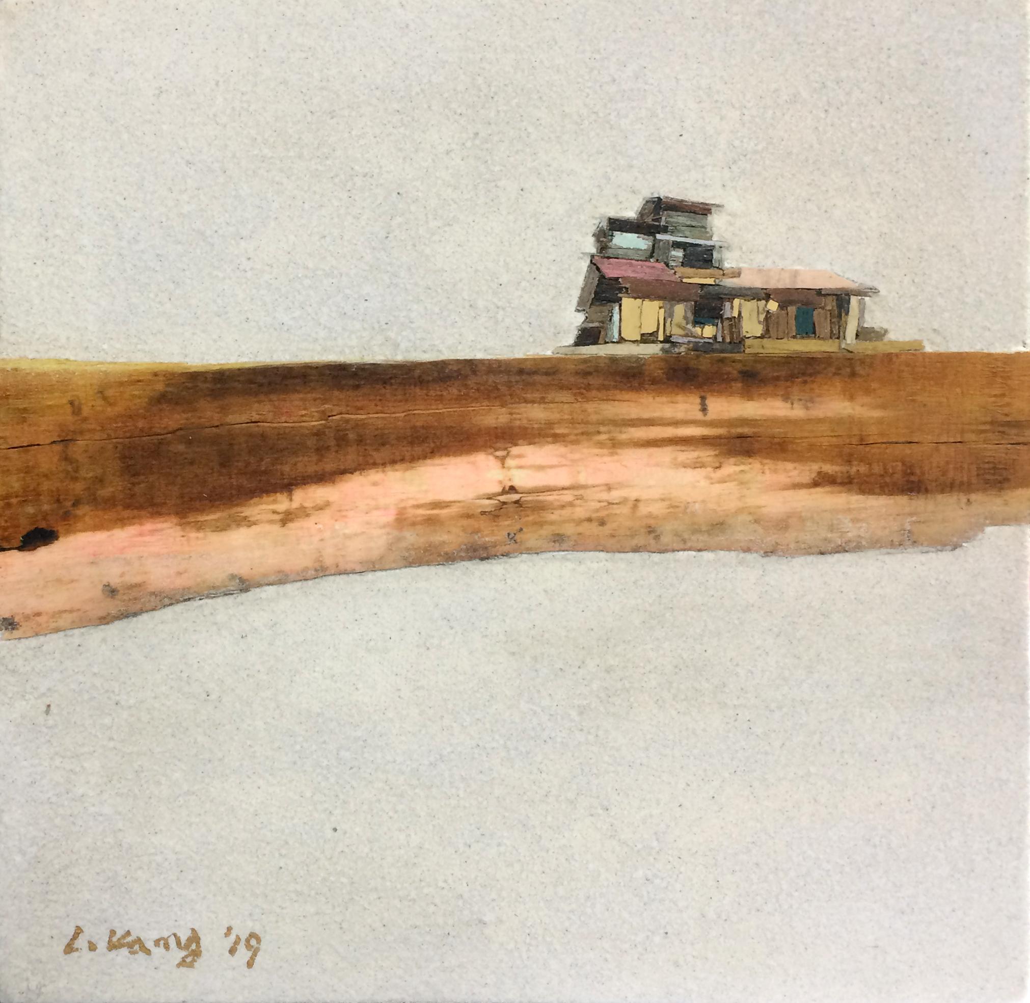 009, 이부강, trace skyline 2, 22 x 22 cm, M