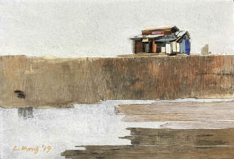 008, 이부강, trace skyline 11, 25.5 x 18
