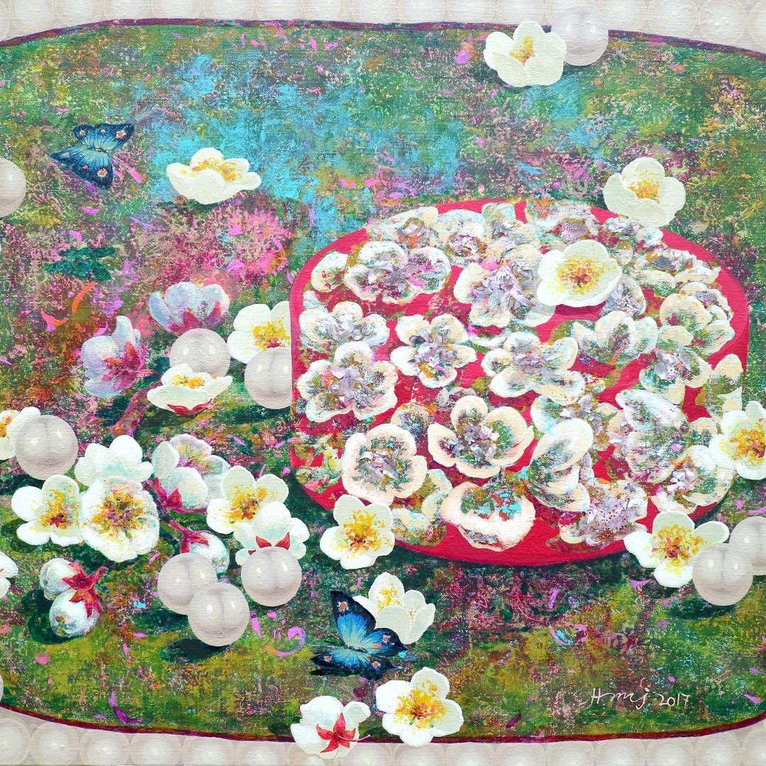 005, 그녀의 정원 91x72.7cm Acrylic on canvas