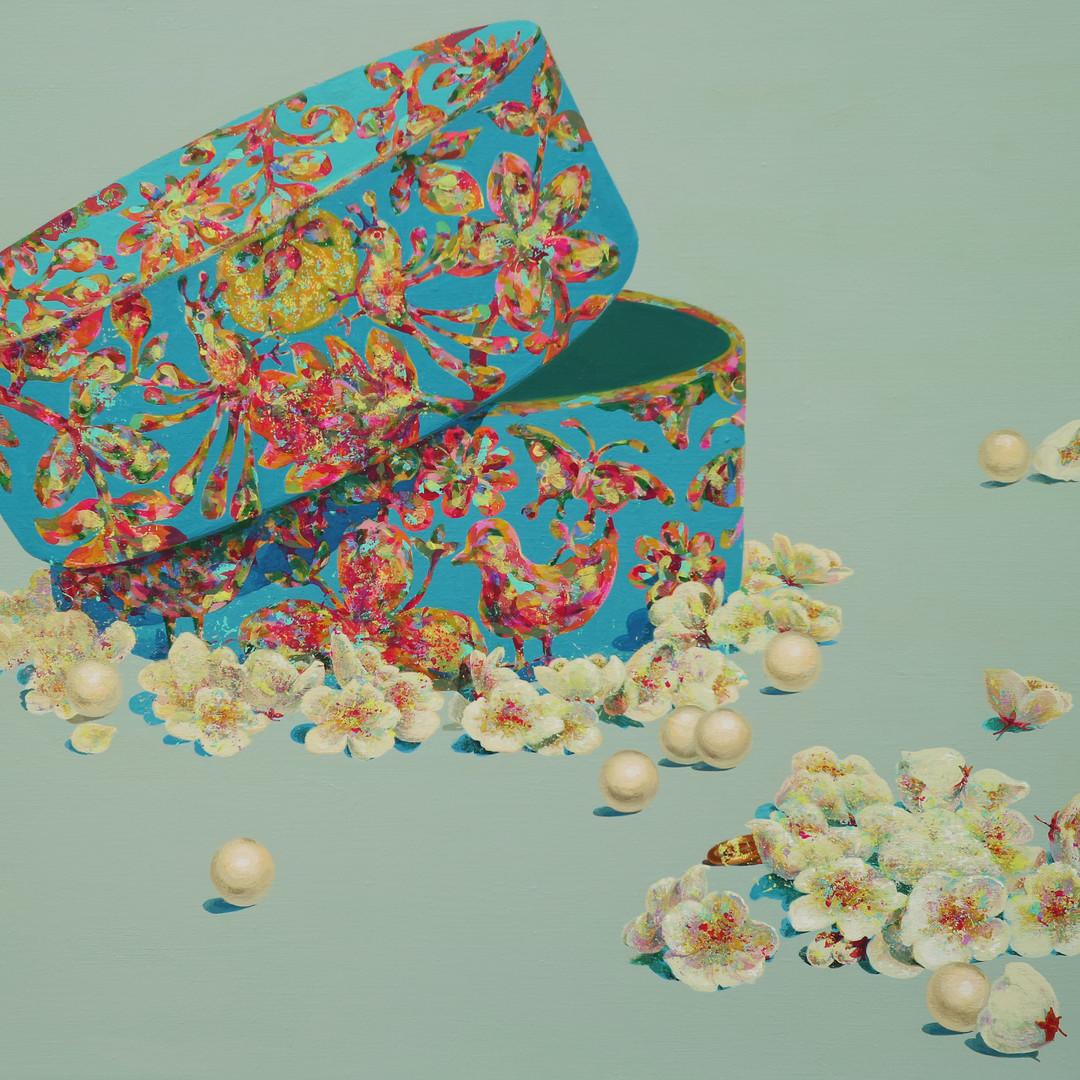001, 5월의 신부 90.9cm×72.7cm Acrylic on Can