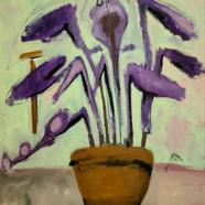 004, 최우, Flower, 72.7 x 60.6 cm, oil on