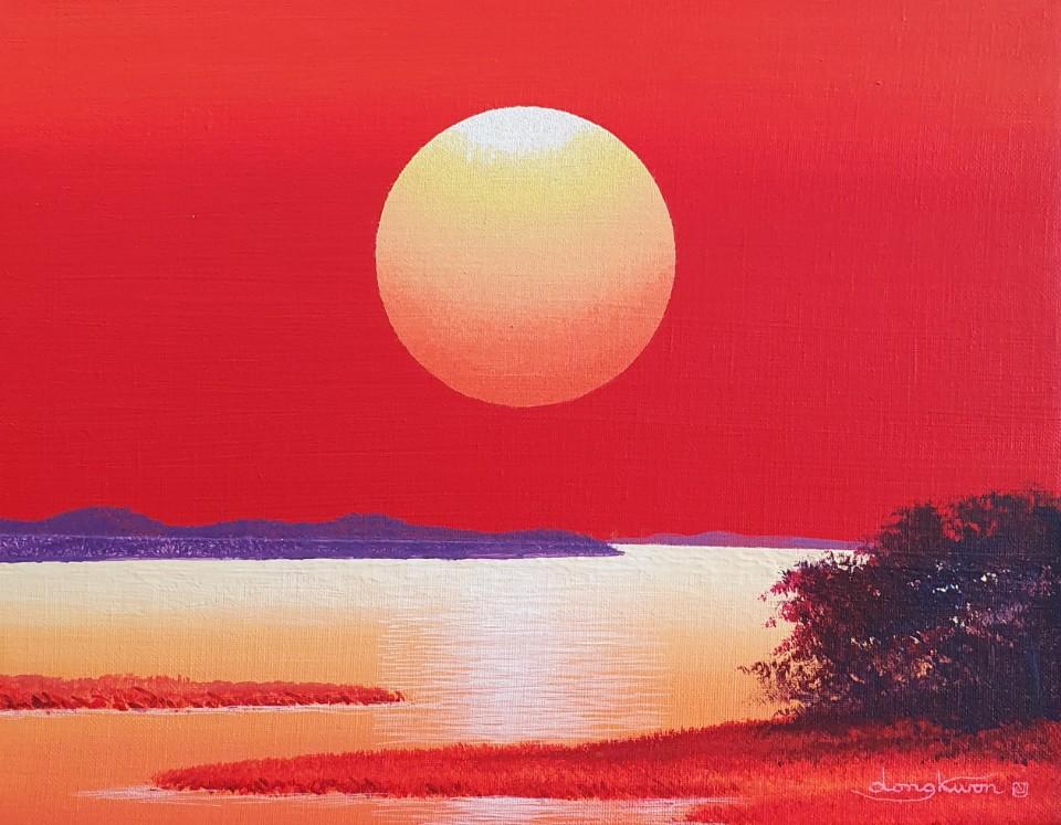 신동권5, 일출-신망애, 40.9 x 31