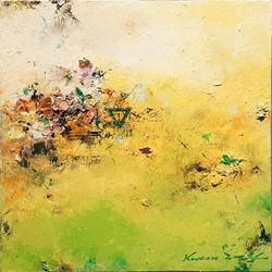 009, 권영범, 어떤여행 (un Voyage), 22.5 x 22.5 cm, Oil on canvas, 2021, 80만원