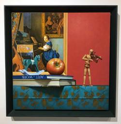 022, 장필교, 하모니, 50 x 50 cm, Acrylic on ca