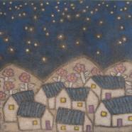조수정3, 눈 산에 꽃이 핀 것은 별이 내려앉았기 떄문이다, 102 x