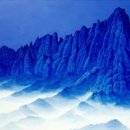 015 청산사유(울산바위)162cmx110cm canvas on acry