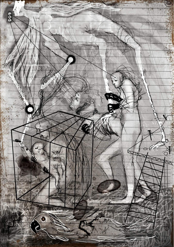 최우(22-2)_, 마르퀴스 드 사드 - 저스틴 혹은 미덕의 불운_13x