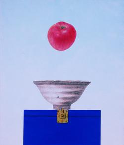 오관진003, 비움과 채움(복을담다),2014,45,5x53,혼합재료.
