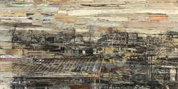 003, 이부강, trace skyline(서둔동), 60 x 30 cm
