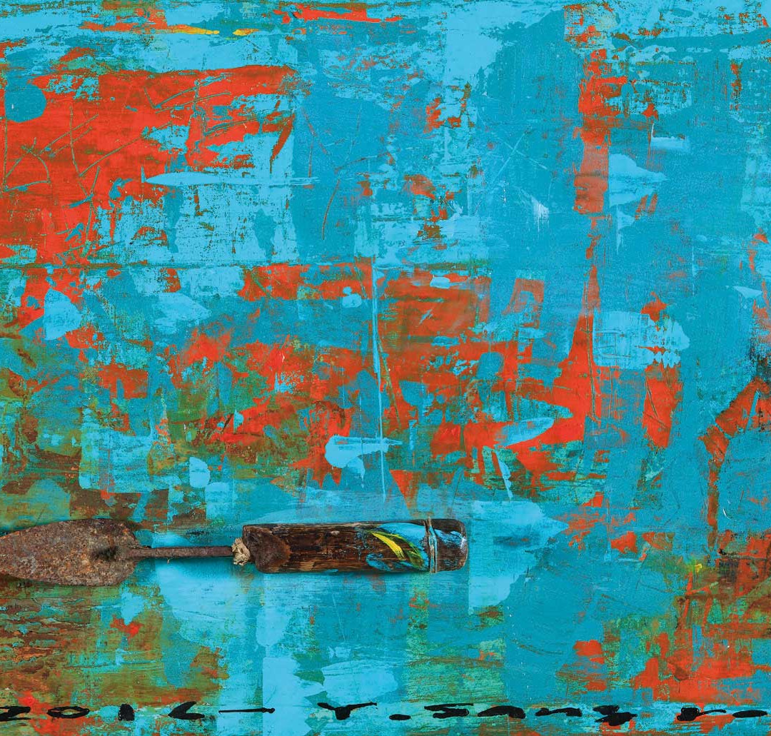 001, The Memory, 57 x 40 cm, 아크릴, 유화 및 혼