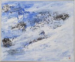 010, 김성호5, 리프산맥의 기억, 45.0 x 37