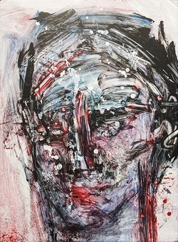 014, 정의철, 얼굴, 40.9 x 31.8 cm, Acrylic, 2021, 90만원