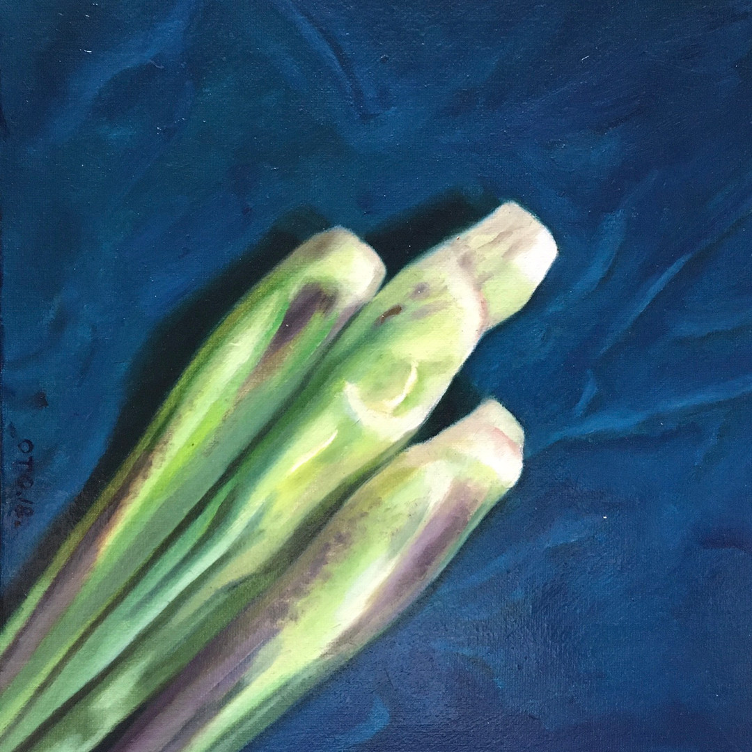 034, 세 개의 수순, 30 x 30 cm, oil on canvas,