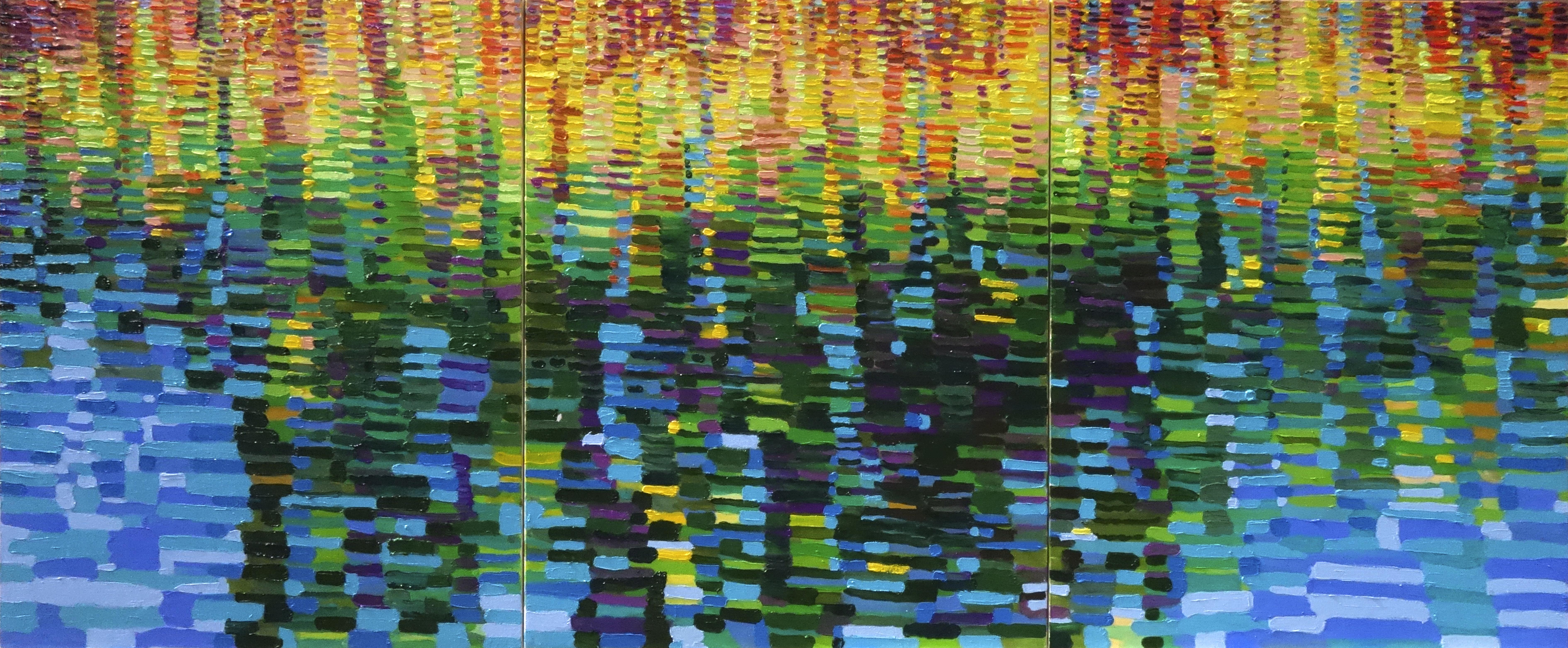 금사홍, Meditation Landscape-가산지_small