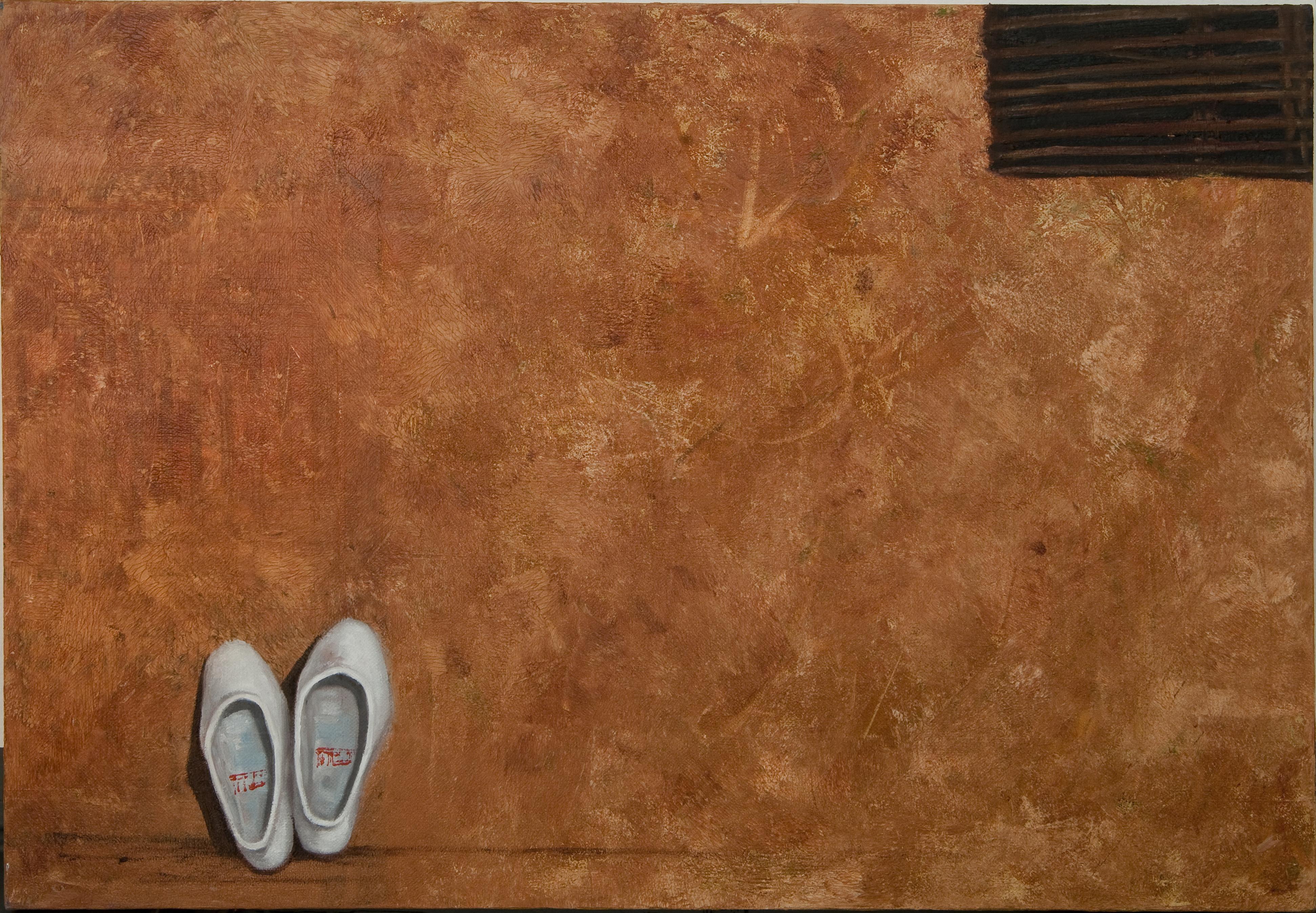 방복희, 門, 45.5 x 65