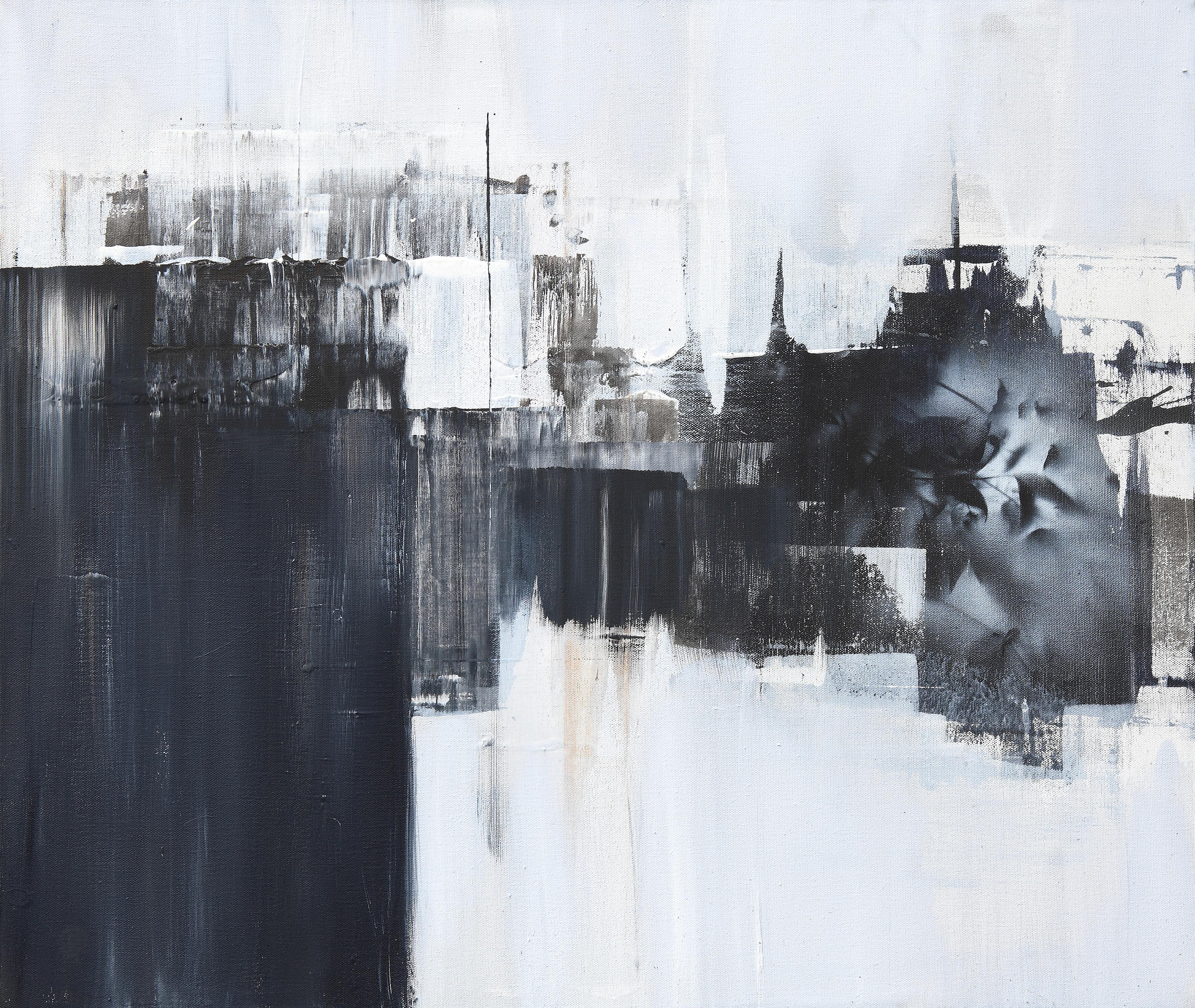 연상록, 숲, 빛, 바람의 숨결,  72.5x61.0cm, mixed material, 2015