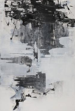007, 기억의 소환-冬, 117 x 80 cm, 캔버스에 유화물감, 2