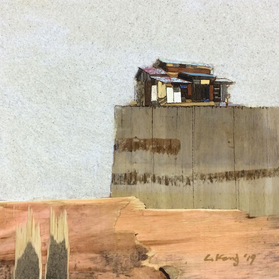 015, 이부강, trace skyline 5, 20 x 20 cm, M