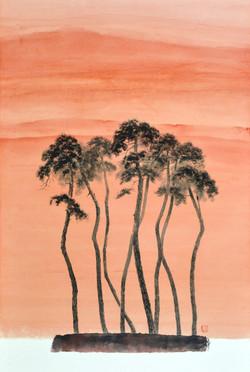 006, 송승호, Namaste, 53.2 x 81