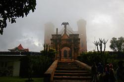 풍경_안개속 왕궁, 안타나나리보_마다가스카르, 30.5 x 45