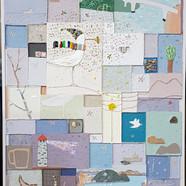 003, 김형길, 통영갈매기19, 72 .7 x 60.6 cm, 캔버스
