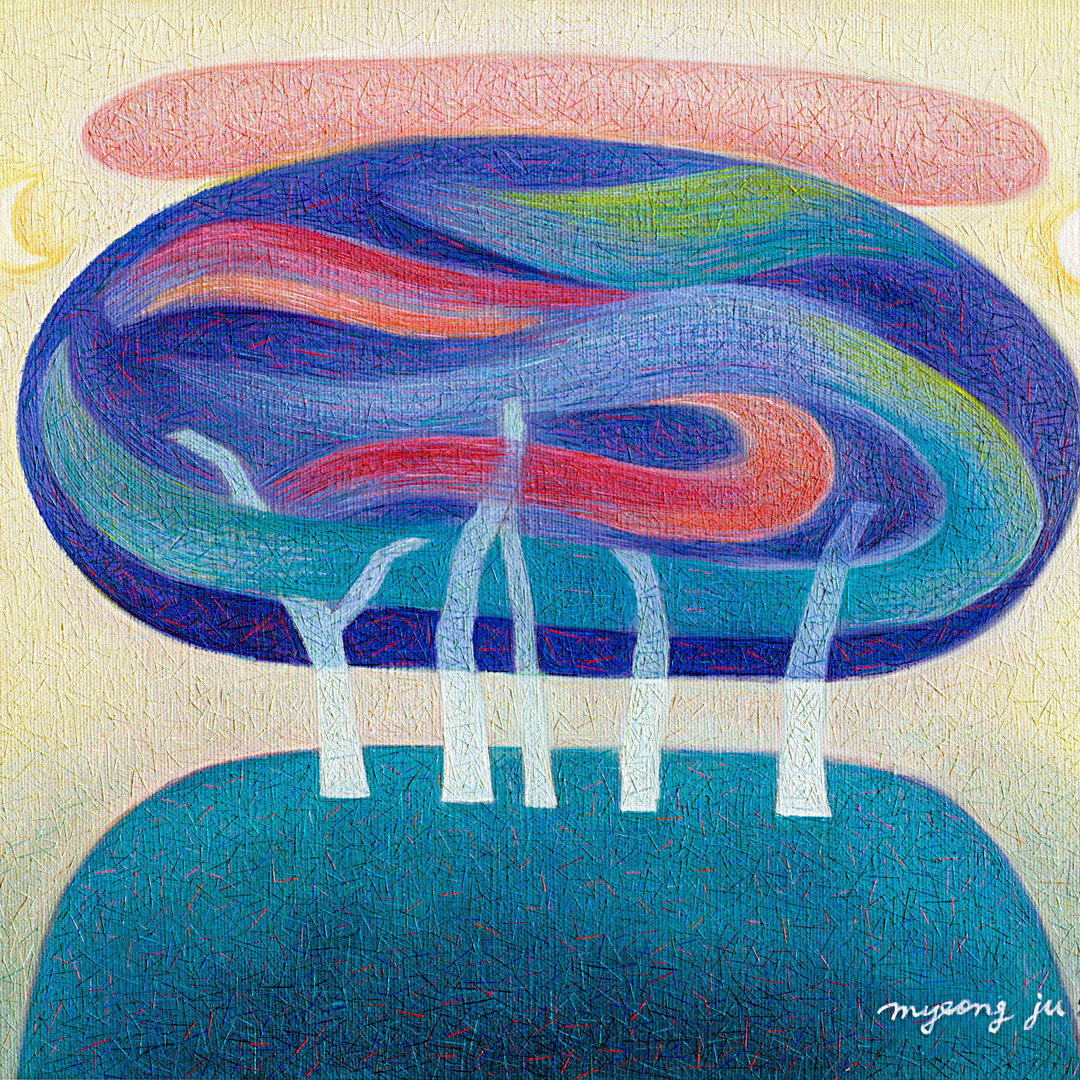006, 봄그림자45.5×37.9.oil on canvas.2006.jp