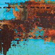 002, The Memory, 90 x 35 cm, 아크릴, 유화 및 혼