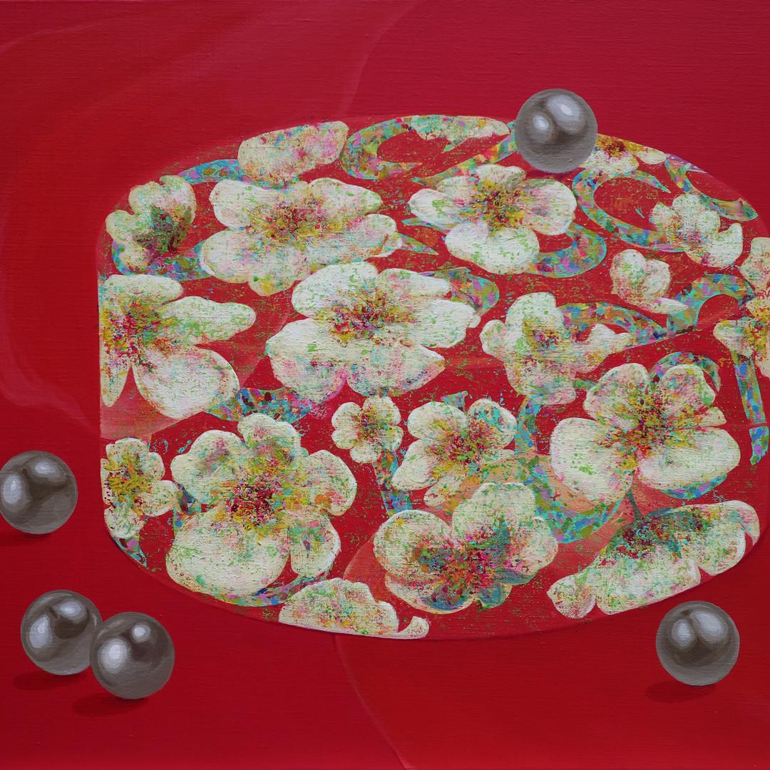 015, 여자_그녀 60.6 x 72.7cm Acrylic on canv
