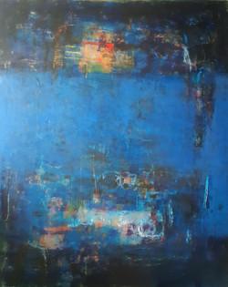 002, 이윤정, Night Flight, 130 x 162 cm, Oi