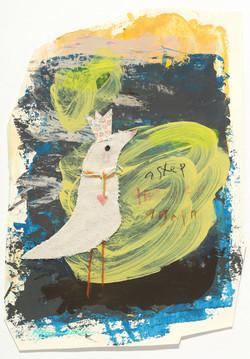 004, 김현영, 하나,둘,셋,다시, 29 x 20 cm, 혼합재료, 2