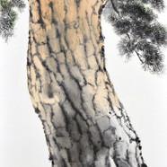 009, 송승호, 겨울애상Ⅰ, 35 x 53 cm, 화선지에 수묵담채,
