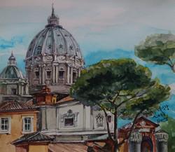 황미정, 성베드로대성당-바티칸 24.9x28